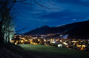 Fulpmes by night